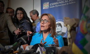"""Gisela López: """"La invitación del Presidente para ir al TIPNIS fue en el marco reflexivo"""""""
