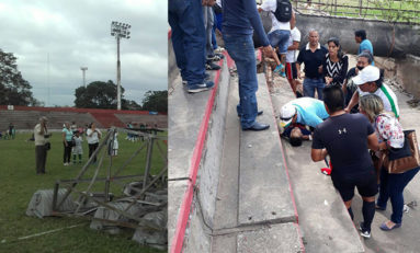 En Santa Cruz: Cae una torre y un niño perdió la vida