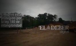 Construyen un puente sobre el río Isiboro, dentro del Tipnis