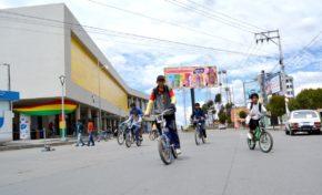 Este domingo se realiza el Día del Peatón con una serie de actividades culturales organizada por la Alcaldía