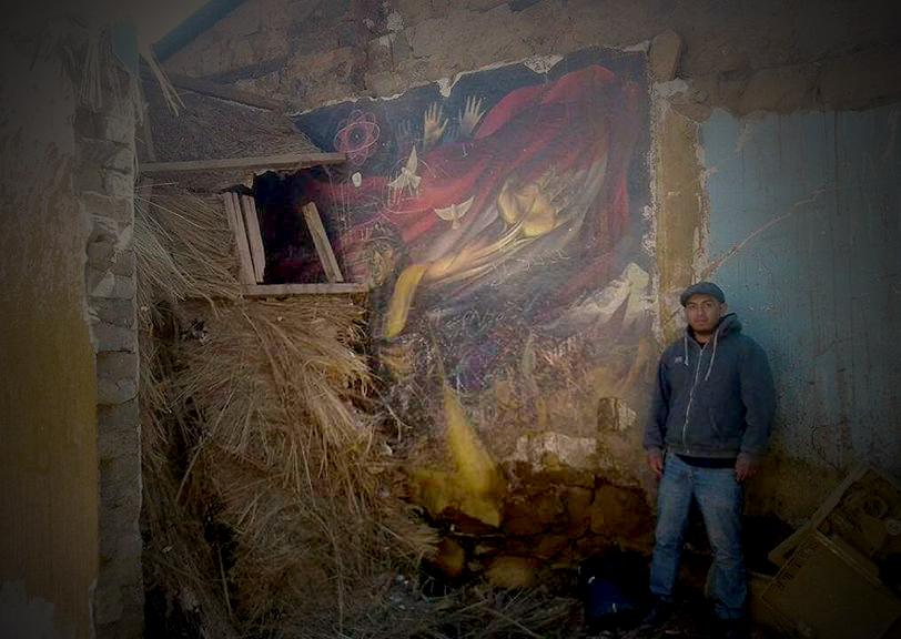 Encuentran mural perdido de Miguel Alandia Pantoja