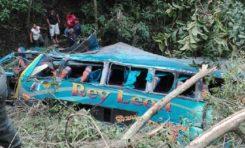 Accidente en Cajuata deja cinco fallecidos