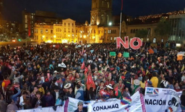 En la ciudad de La Paz, 50 colectivos ciudadanos se movilizarán contra reelección de Evo Morales