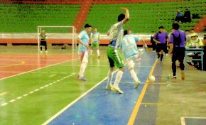 Enigma quita el invicto de Cobbel en la Liga Nacional de Futsal
