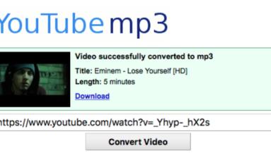 Cerraron YouTube-mp3, el portal que te permitía descargar música de YouTube