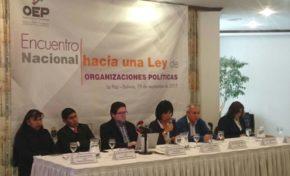 El TSE cierra el ciclo de recolección de propuestas para la construcción de la Ley de Organizaciones Políticas