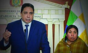 Tomasa Machaca trabajará en el Ministerio de Justicia y Transparencia Institucional