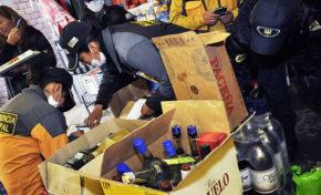 Comuna decomisa 500 bebidas alcohólicas en operativos realizados en entradas folclóricas