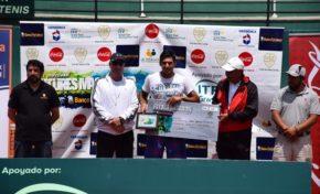 Argentino se corona en el torneo de Futures en La Paz