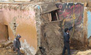 Recomiendan recuperación y traslado de mural de Alandia Pantoja de Milluni