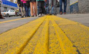 La Alcaldía de La Paz inaugura nueva ruta para personas ciegas en San Pedro