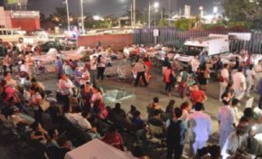 Terremoto de 8,2 que sacudió a México deja al menos 32 muertos, se activó la alarma de tsunami