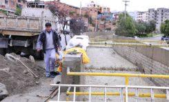Comuna realiza trabajos de prevención en cuencas de Orkojahuira, Choqueyapu y Sur