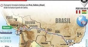 Bolivia anuncia firma de acuerdo con Brasil por tren biocéanico en octubre