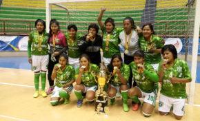 Atlantes consigue el tricampeonato en el Torneo Nacional de Fútsal