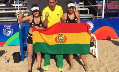 Dupla boliviana pasa a semifinales en voleibol de playa
