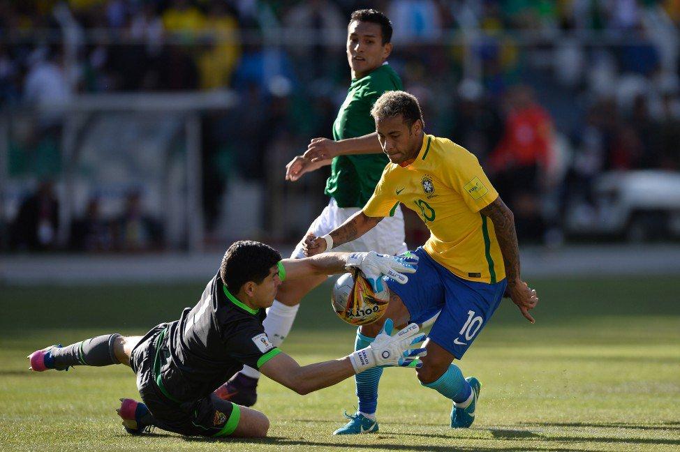 Bolivia empata frente Brasil con Lampe como héroe