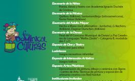Villa Copacabana es la próxima parada de la Feria Dominical de las Culturas