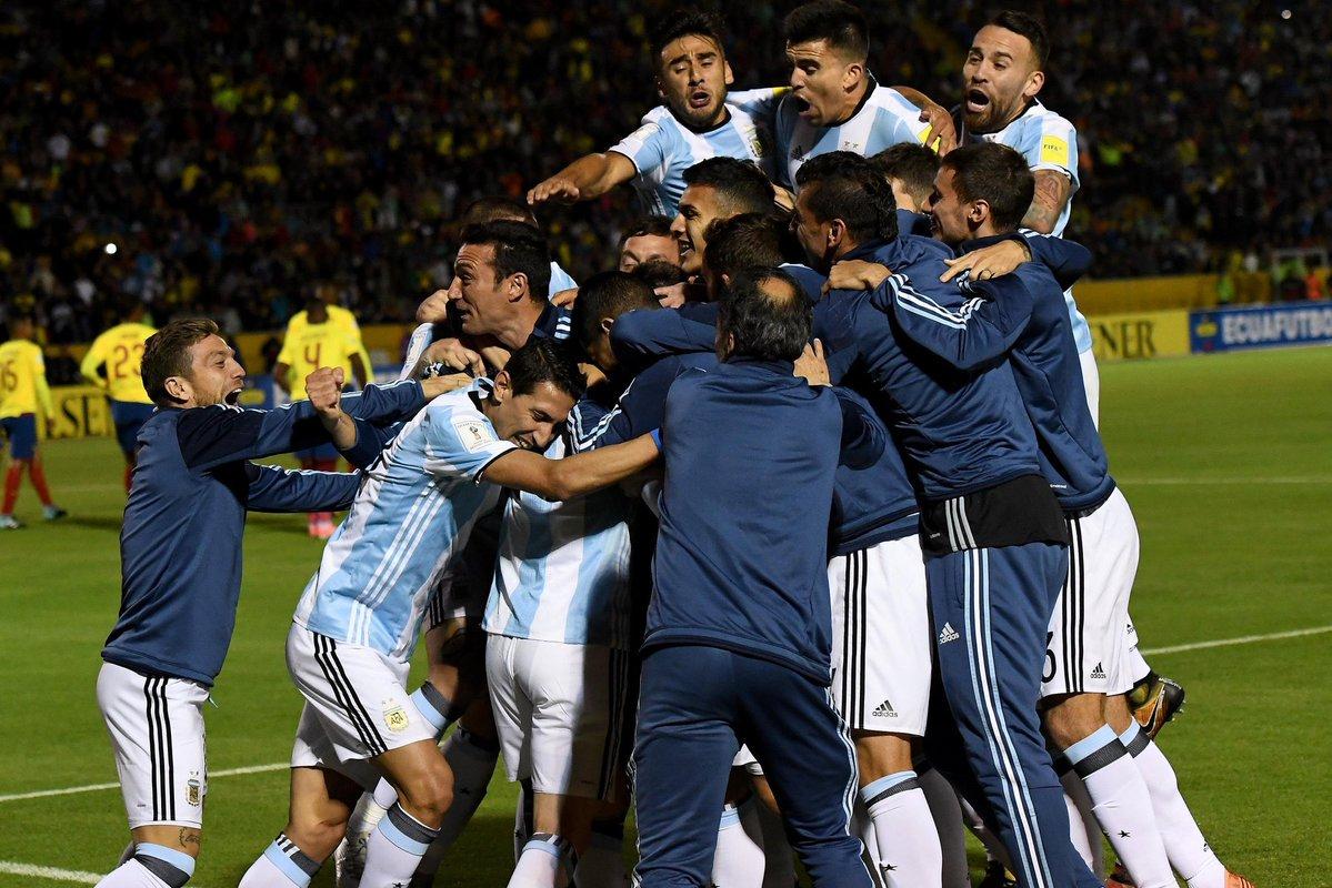 Sudamérica ya tiene a sus representantes al Mundial 2018