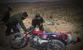 En Oruro: Un rayo mató a una pareja que iba en motocicleta