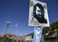 El cuerpo hallado en un río de Argentina es del activista Maldonado