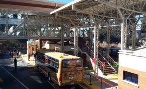 Estación de Transferencia de La Paz BUS está cerrada este martes; se construye un paso a nivel para peatones