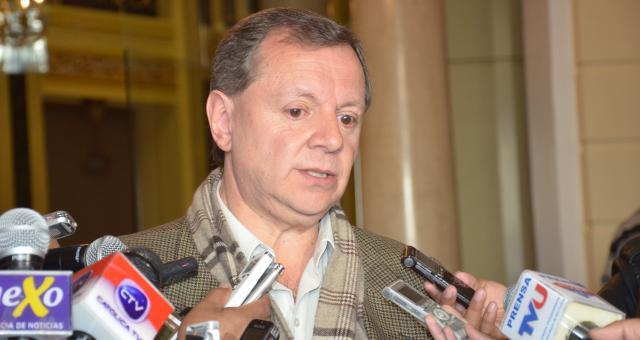 Presidente de la cámara de senadores suspende viaje a sede de la OEA