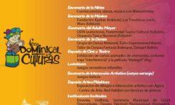 Cotahuma recibe a la Feria Dominical de las Culturas el domingo 8
