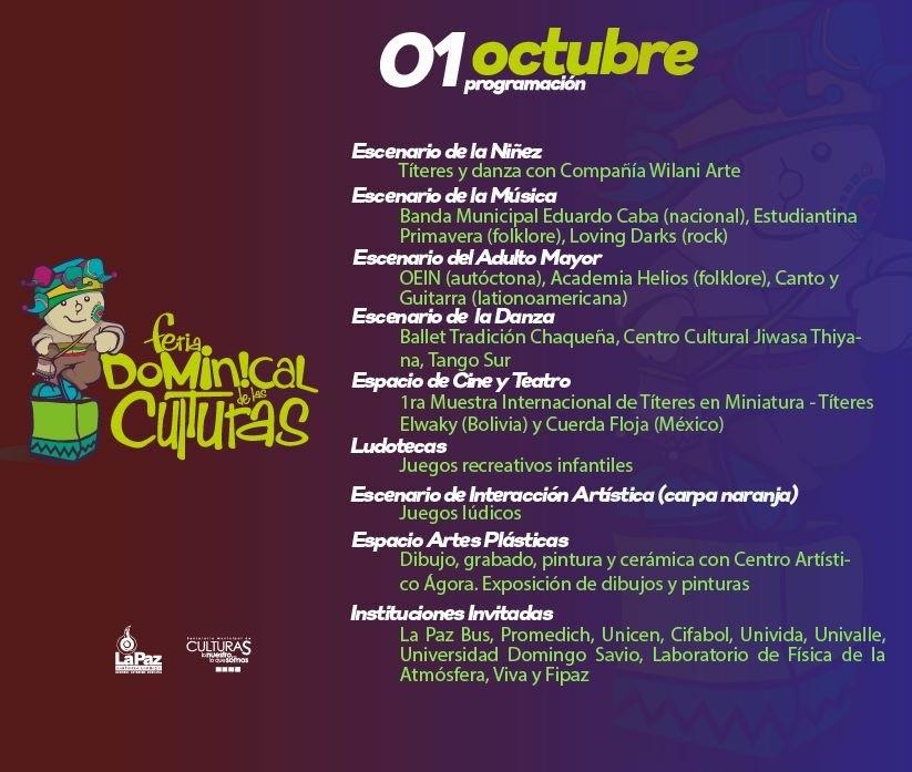 La Feria Dominical de las Culturas se traslada a Villa Fátima