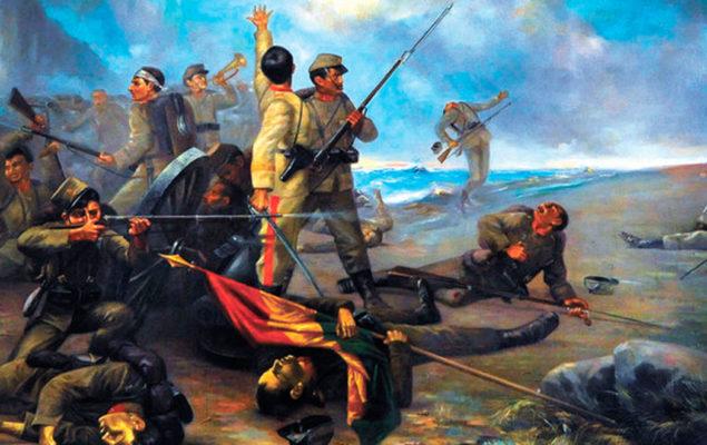 Pintura referencial de la época