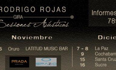 "Rodrigo Rojas llega a Bolivia para presentar ""Cuentagotas II"""