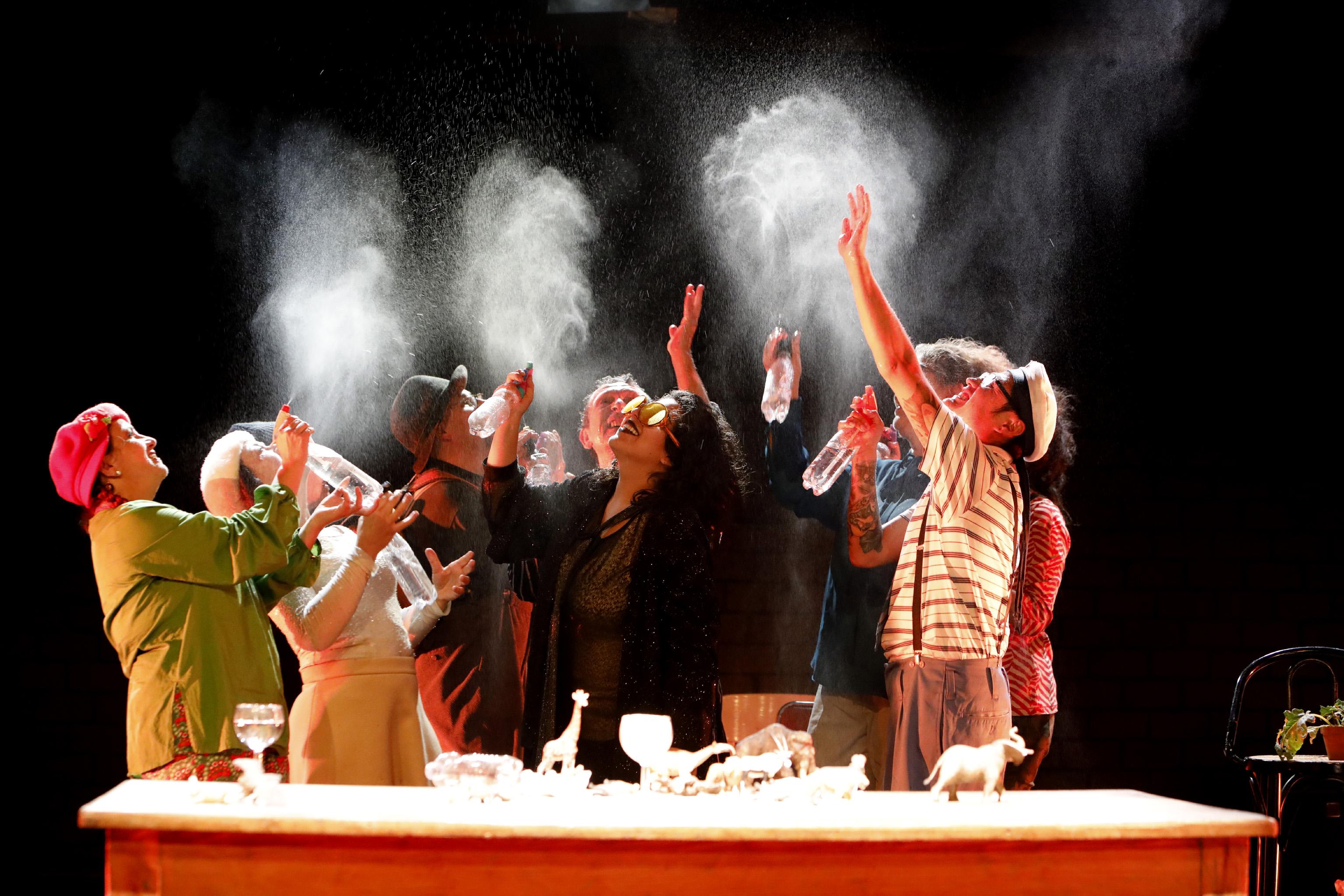 Municipios de La Paz y Bonn producen una obra de teatro