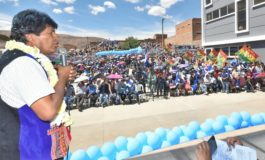 Evo Morales está decidido a ser candidato y ganar las elecciones de 2019