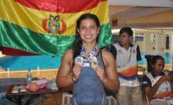 Karen Torrez consigue la primera medalla de oro para Bolivia con récord bolivariano