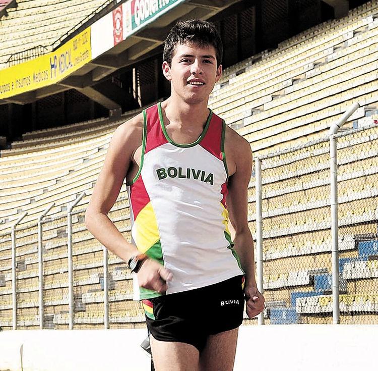Marchista boliviano lamenta falta de apoyo de sus autoridades antes de los juegos Bolivarianos