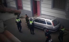Efectivo de la policía agredió a un guardia municipal de la ciudad de La Paz