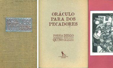Humberto Quino y Diego Morales presentan libro de poesía y grabados