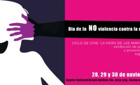 Presentan ciclo de cine por el día de la No violencia contra las mujeres
