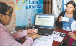 Ocho mil madres dejaron de cobrar el bono Juana Azurduy en Oruro