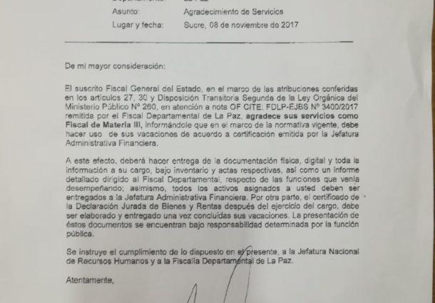 Juez otorga detención domiciliaria a exfiscal acusado de violar a su hija