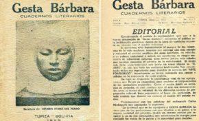 Potosí será sede del encuentro de escritores sobre Gesta Bárbara