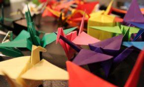 Pedirán paz para La Paz con 1.000 grullas de origami