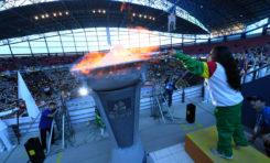 Encienden la antorcha de los XIII Juegos Sudamericanos Escolares