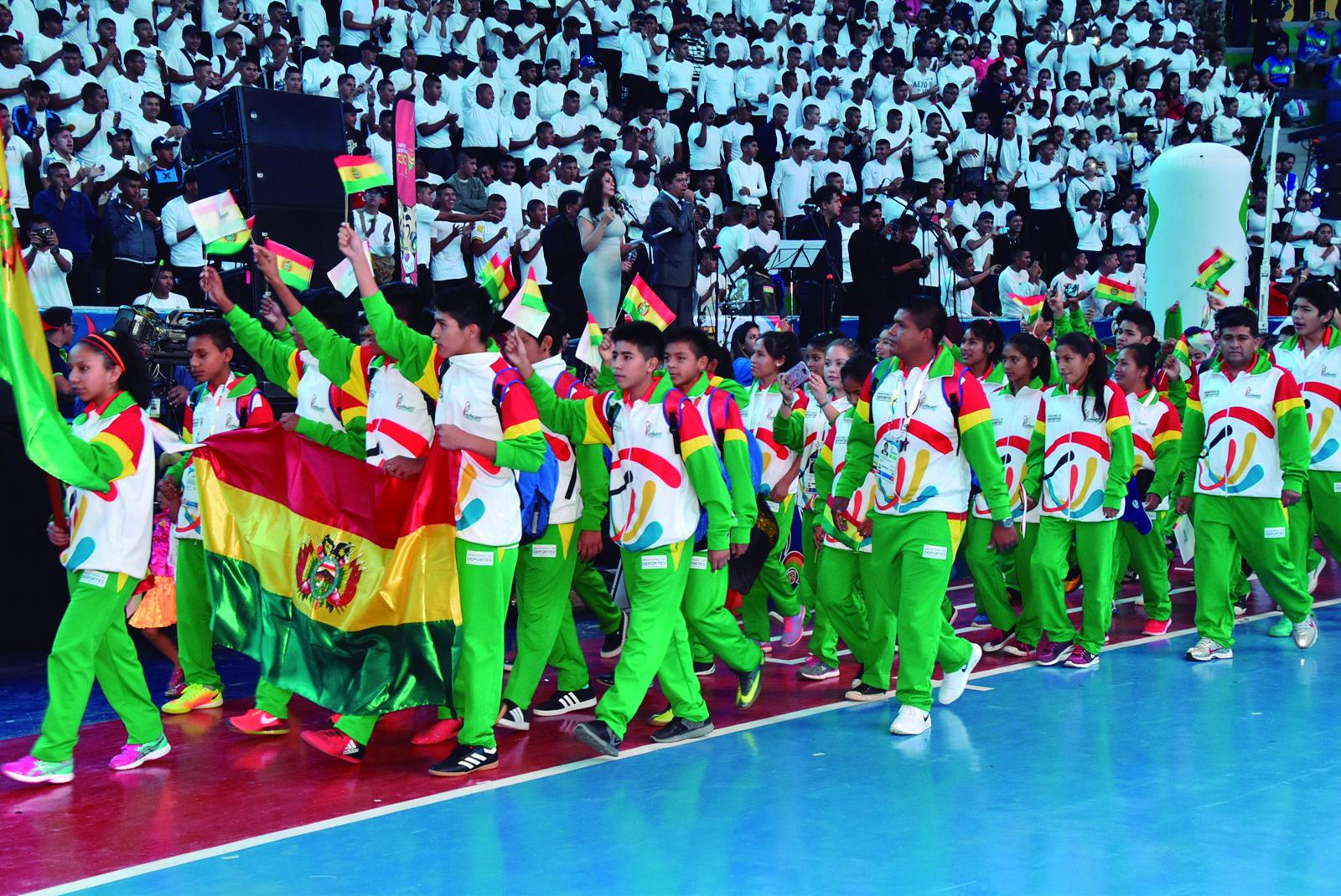 Bolivia cierra los Juegos Sudamericanos Escolares con oro