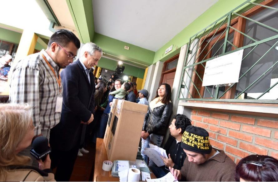 García Linera dice que cualquier candidato que obtenga más de 157 votos «ya cumplió el requisito democrático»
