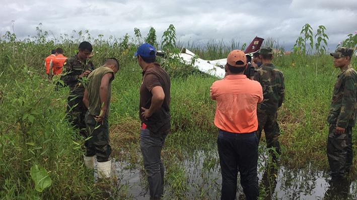 Dos incidentes aéreos en Trinidad
