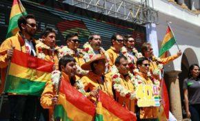 Sucre se luce en el lanzamiento del Dakar por Bolivia