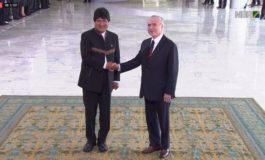 Temer y Morales inician reunión bilateral en el Palacio de Planalto