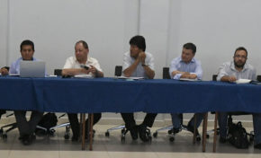 Morales se reunió con representantes del sector empresarial de Santa Cruz
