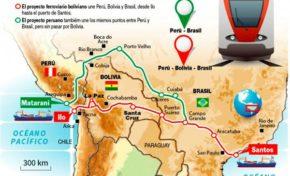 Presidentes de Bolivia y Suiza sellarán el 14 de diciembre acuerdo por el tren bioceánico